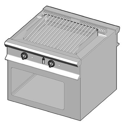 need for Cafe] Cooking Equipment Ambach System 900 Grill ...