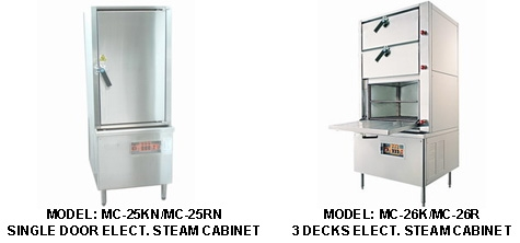 Need For All Cooking Equipment Leego Steamer Series