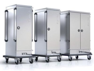 Need for restaurant] food distribution blanco trolleys