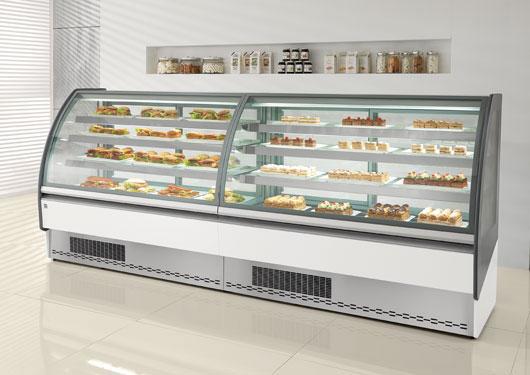 Need for cafe showcase ifi showcase bistro pastry for Grandi case cabinate